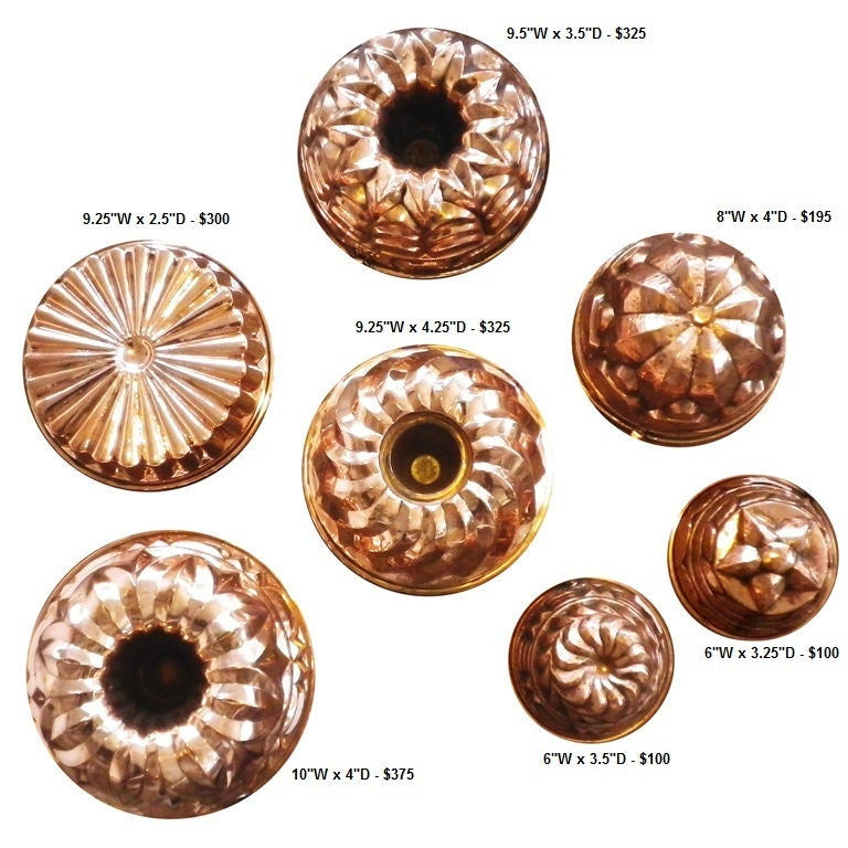 English Copper Moulds 6