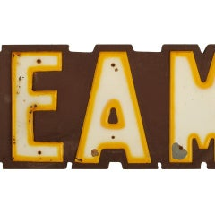 Large Ice Cream Parlor Sign, Over 8' Long image 6