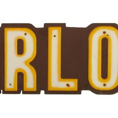 Large Ice Cream Parlor Sign, Over 8' Long image 7
