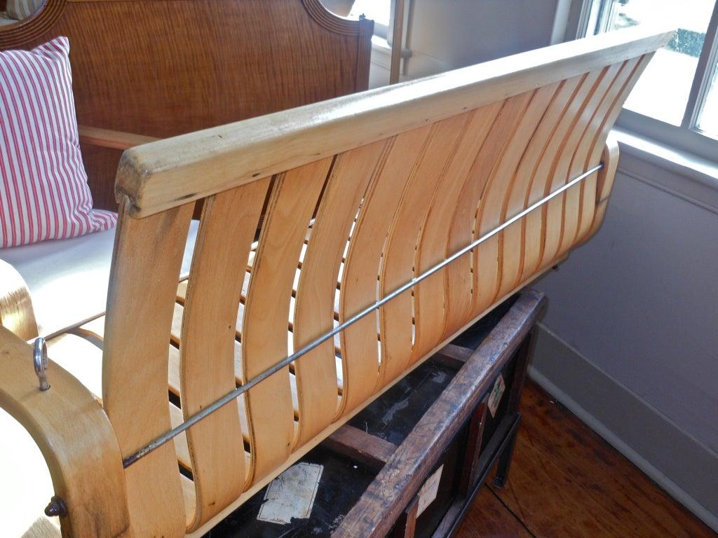 Rare Bentwood Porch Swing At 1stdibs