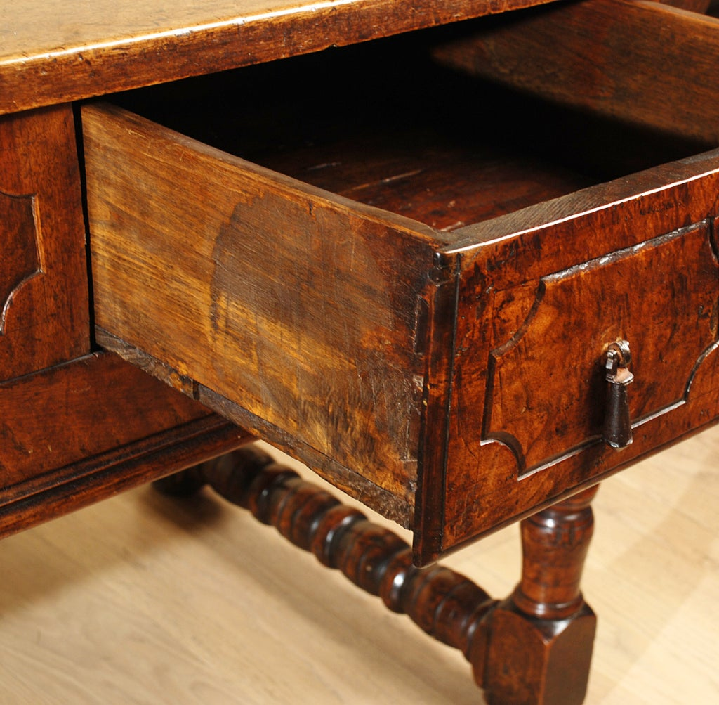 17th century spanish baroque period walnut table at 1stdibs for Spanish baroque furniture