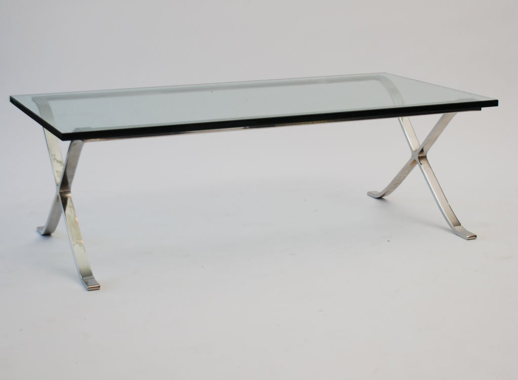 ludwig mies van der rohe cocktail table at 1stdibs. Black Bedroom Furniture Sets. Home Design Ideas