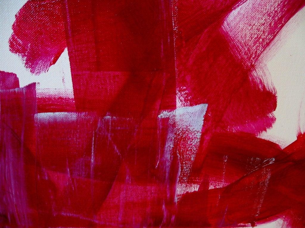 "Original Abstract by Karina Gentinetta, Signed (48"" x 48"") 8"