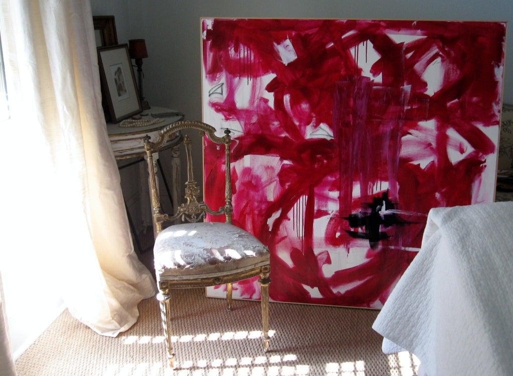 "Original Abstract by Karina Gentinetta, Signed (48"" x 48"") 9"