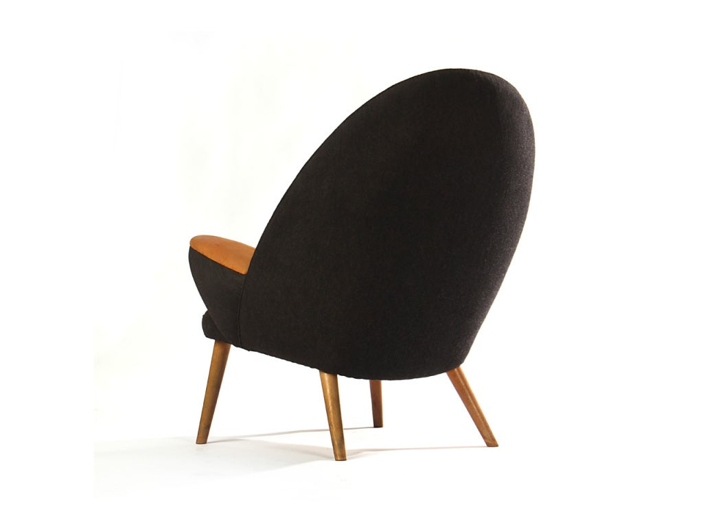 Quot The Upholstered Peacock Quot Chair By Hans J Wegner For Sale