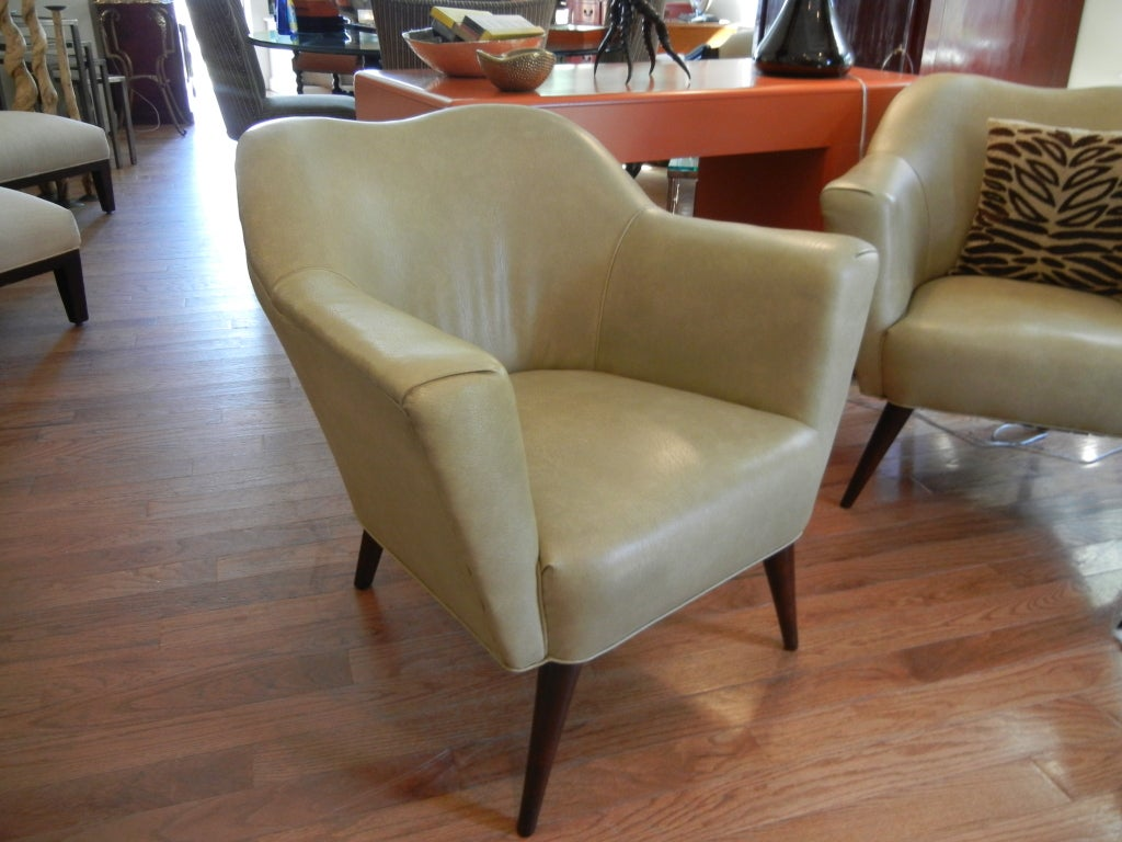 Pair of harry bertoia style 60s armchairs at 1stdibs for Furniture 60s style