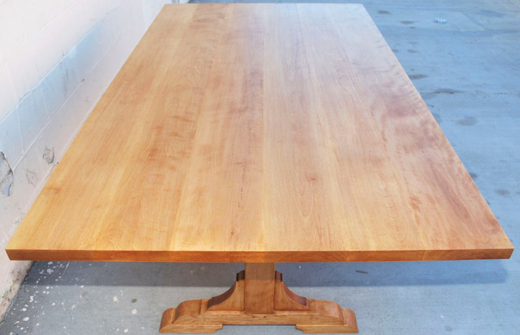 Gustavian Country Dining Table, Custom Made by Petersen Antiques  For Sale