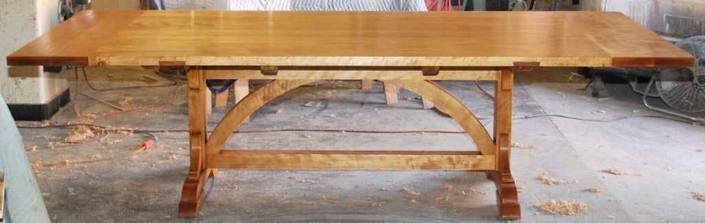 Country Dining Table, Custom Made by Petersen Antiques  For Sale 2