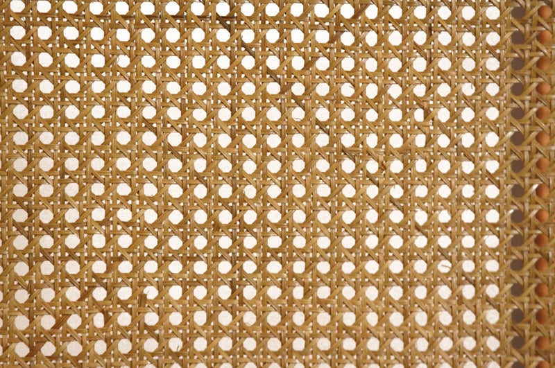 Massive Danish Modern Caned Solid Staved Teak Frame Folding Screen Room Divider 8