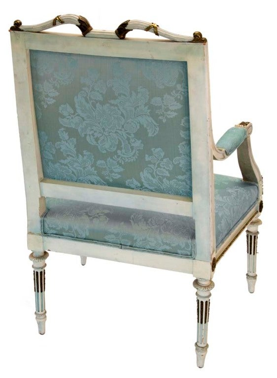 Georges Jacob French Louis Style Chair For Sale 1