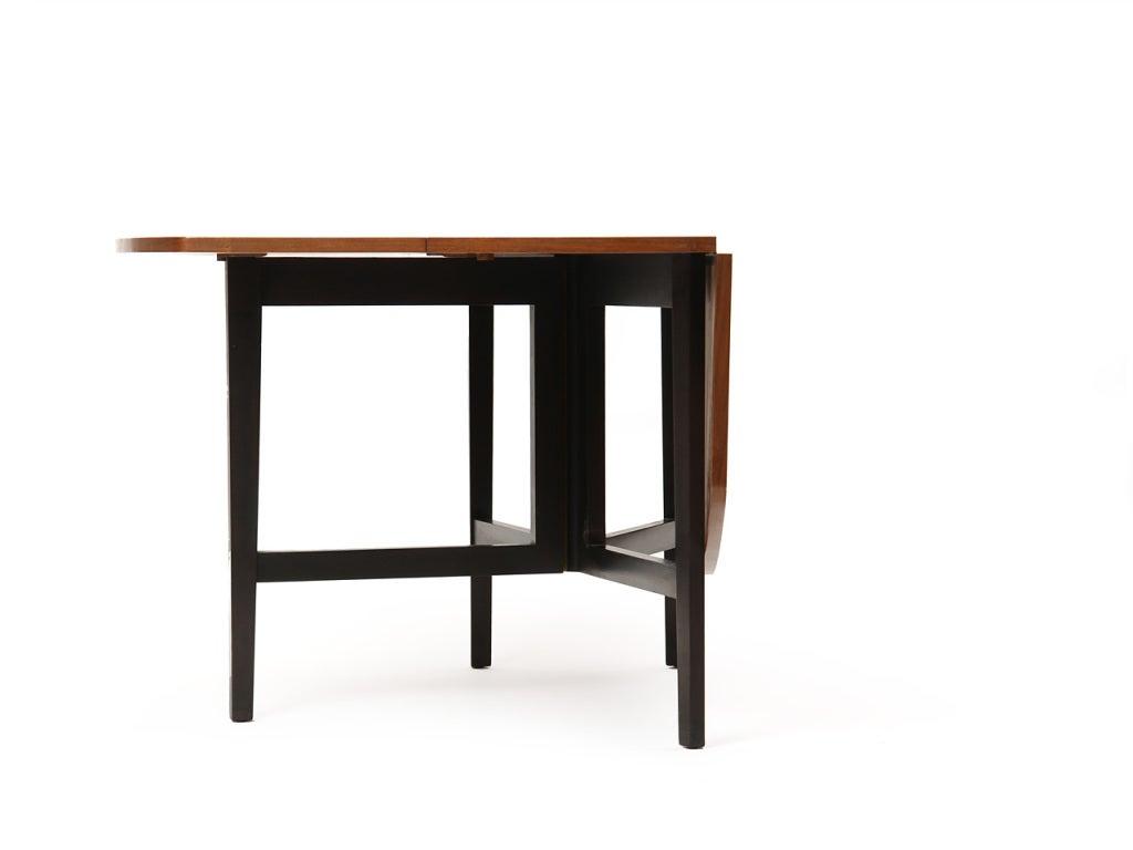 Mid-Century Modern Drop-Leaf Table by Edward Wormley For Sale