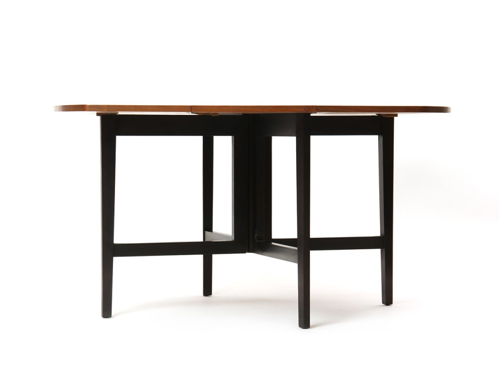 American Drop-Leaf Table by Edward Wormley For Sale