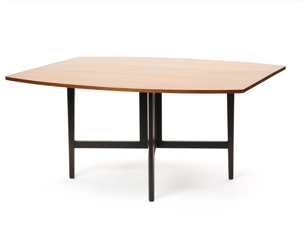 Mid-20th Century Drop-Leaf Table by Edward Wormley For Sale