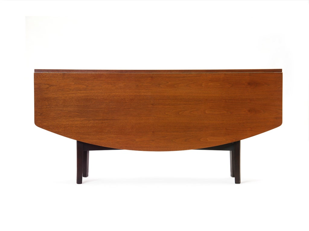 Drop-Leaf Table by Edward Wormley For Sale 1