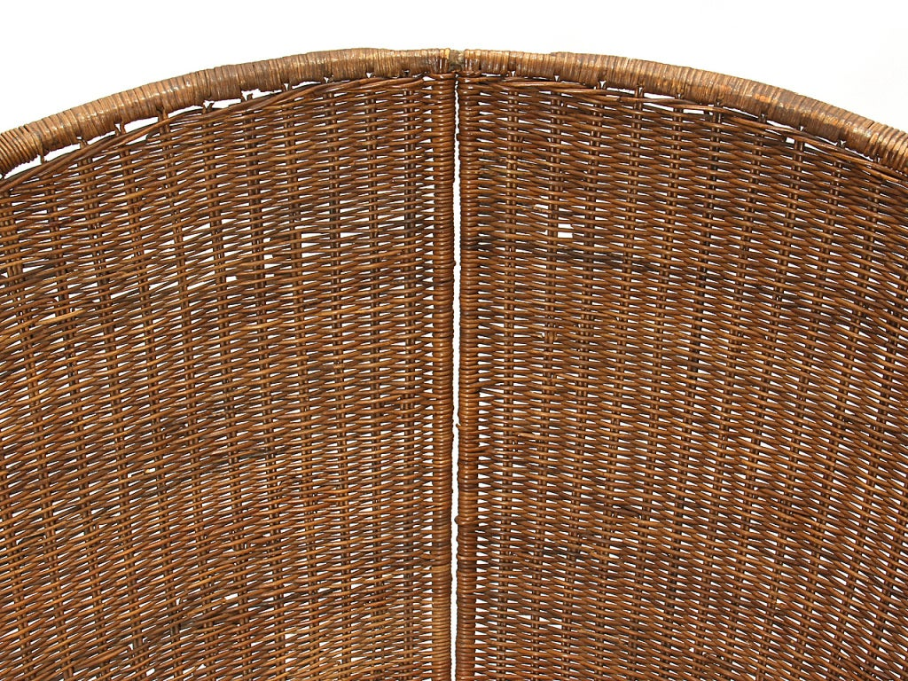 wicker lounge by Danny Ho Fong In Good Condition In Sagaponack, NY