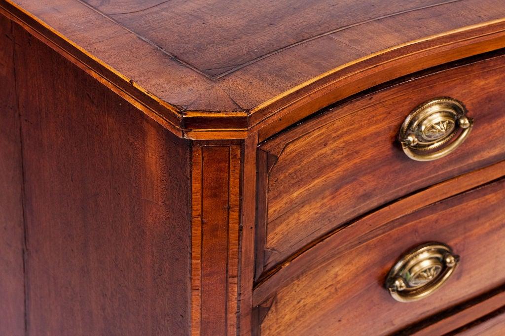 mahogany 3 drawer chest 2