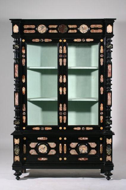 A Pietra Dura Cabinet image 2