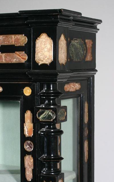 Italian A Pietra Dura Cabinet For Sale