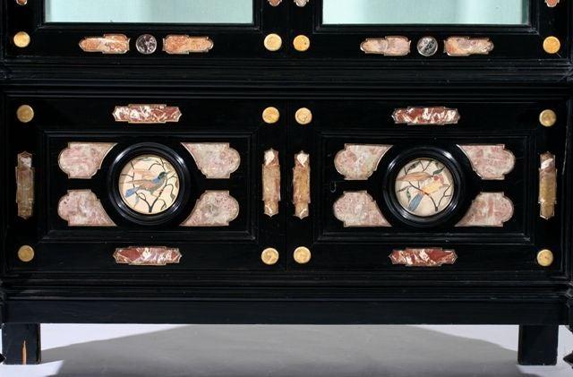A Pietra Dura Cabinet image 4