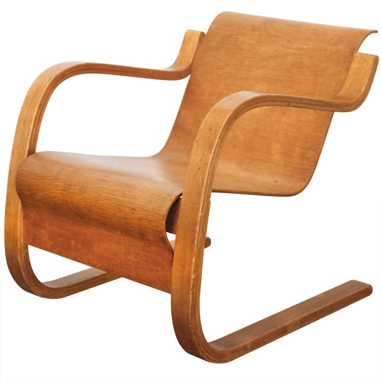cantilever chair nr 31 by alvar aalto at 1stdibs