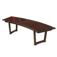 Jules Leleu Rosewood Table