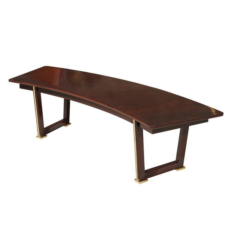 Jules Leleu Rosewood Table