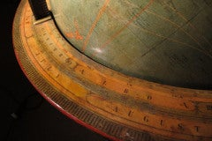 Grand Scale Terrestrial Library Globe by Kittinger, Circa 1930 image 7