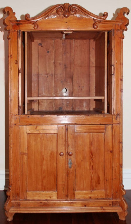 Small hutch with four doors for sale at 1stdibs for Small doors for sale