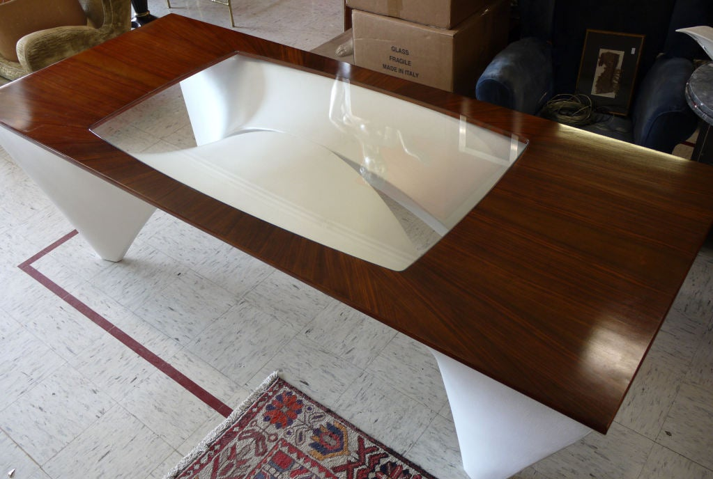 Architectural Dining Table by Studio L'Opere ei Giorni In Excellent Condition For Sale In Kilmarnock, VA