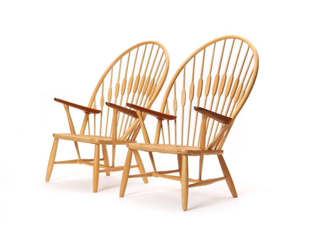 hans wegner peacock chair. Scandinavian Modern The Peacock Chair By Hans J. Wegner For Sale