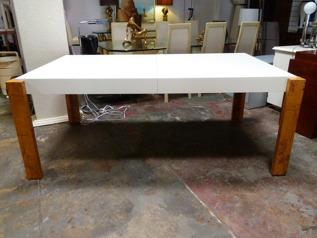Late 20th Century Parson Dining Table by  Milo Baughman