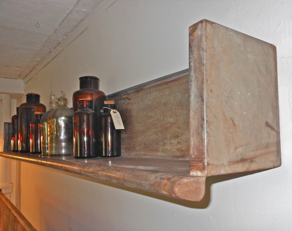 beaded kitchen cabinets cool zinc shelf at 1stdibs 11932