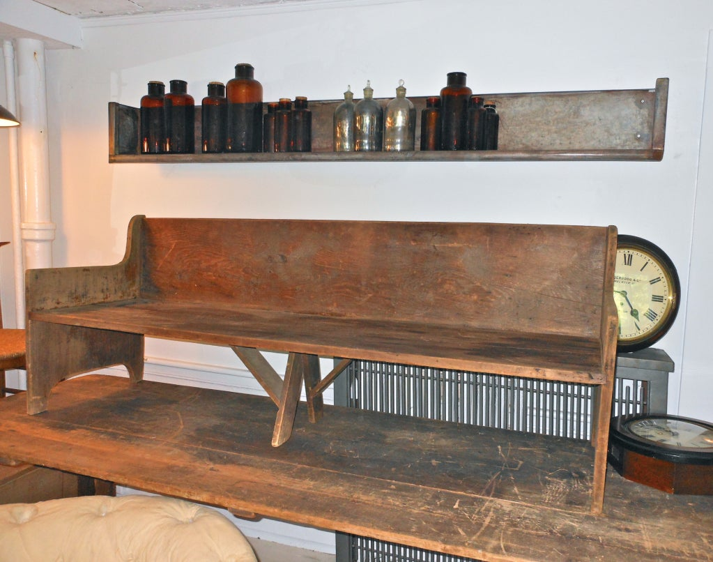 Very cool zinc shelf at 1stdibs for Really cool furniture