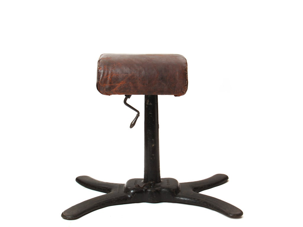 Industrial Early 20th Century Pommel Horse For Sale