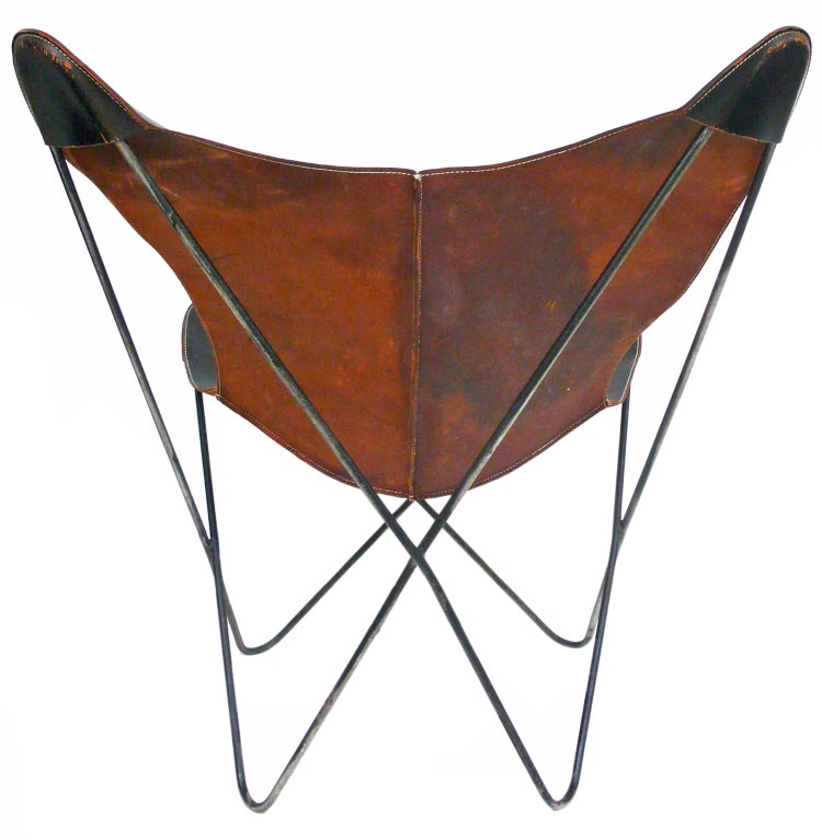 vintage hardoy butterfly chair at 1stdibs. Black Bedroom Furniture Sets. Home Design Ideas