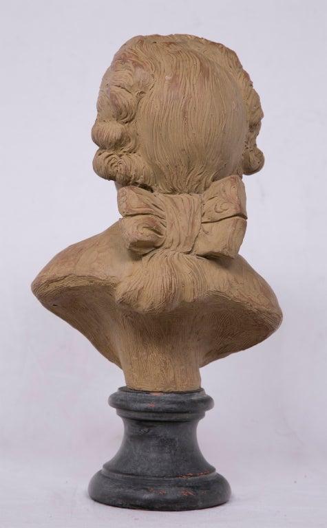 terra cotta portrait bust at 1stdibs. Black Bedroom Furniture Sets. Home Design Ideas