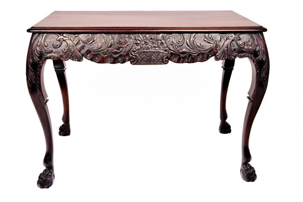 Irischer Mahagoni Tisch, 19. Jahrhundert 3