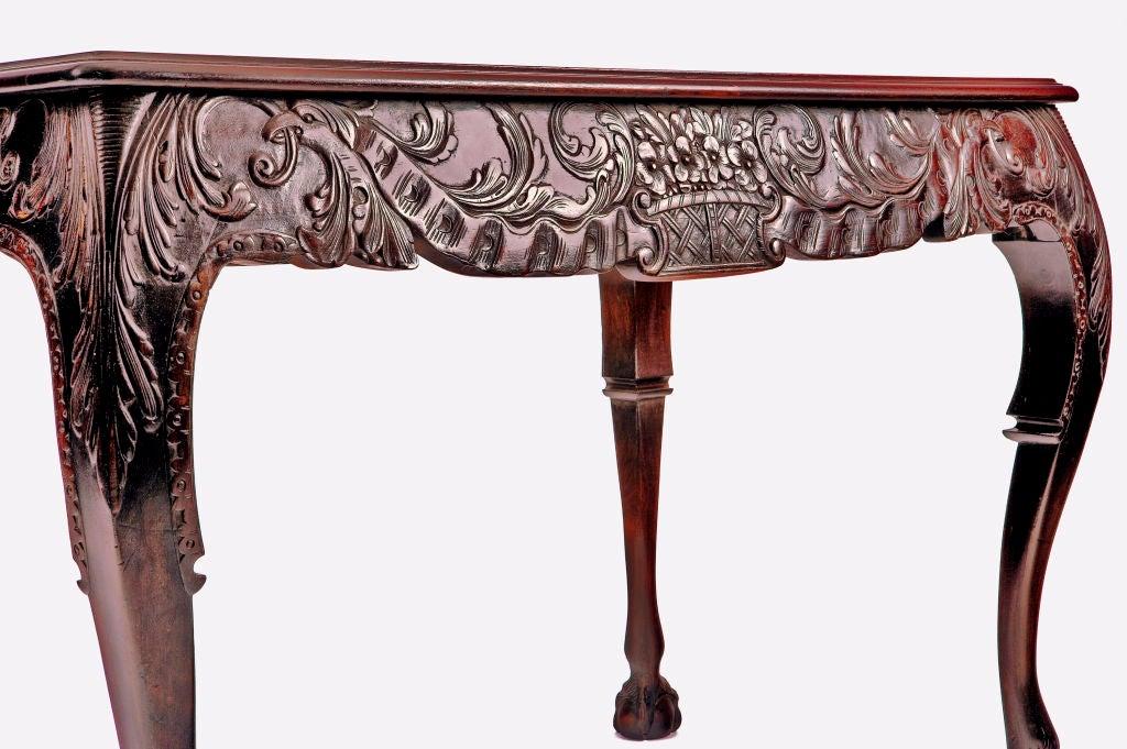 Irischer Mahagoni Tisch, 19. Jahrhundert 4