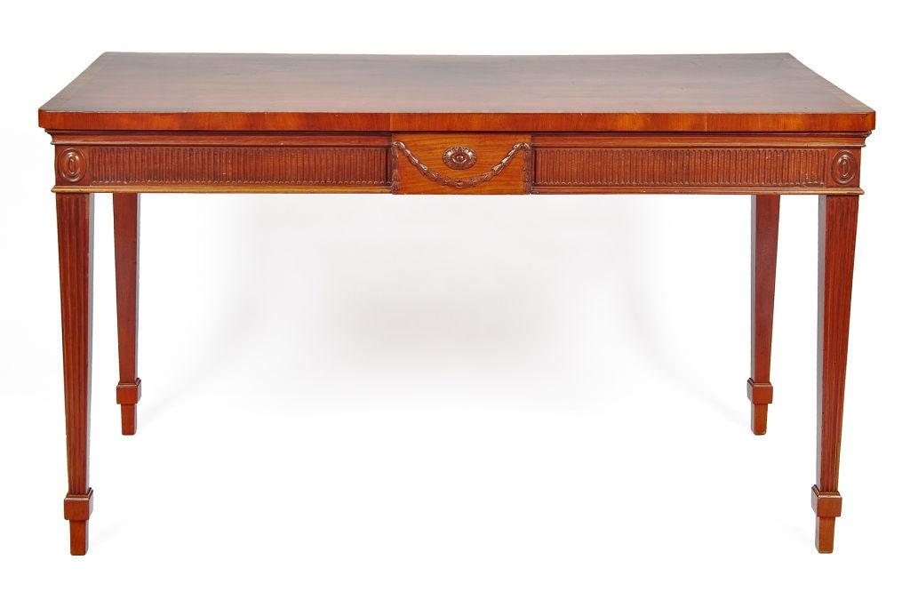 George III Mahogany Serving Table 2