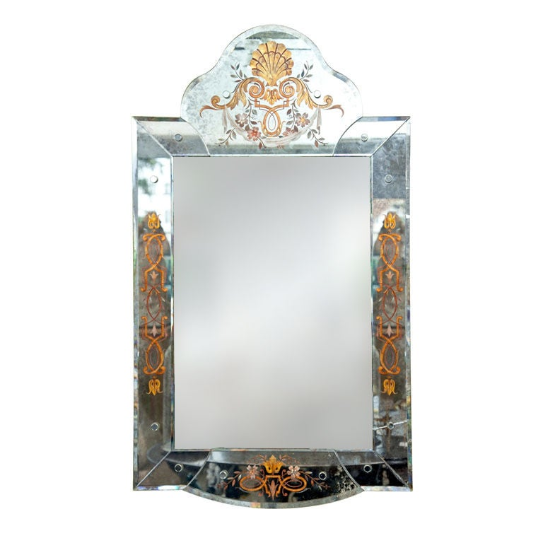 Venetian Style Mirror For Sale at 1stdibs