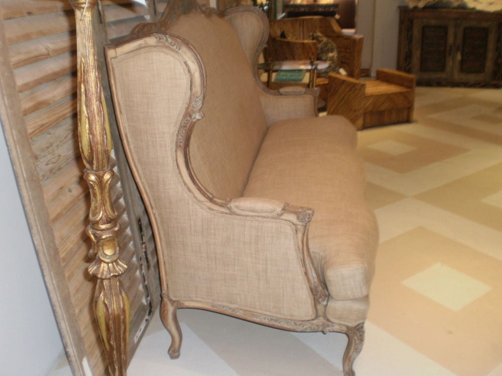 Upholstery 19th Century French Louis XV Style Canapé or Sofa For Sale
