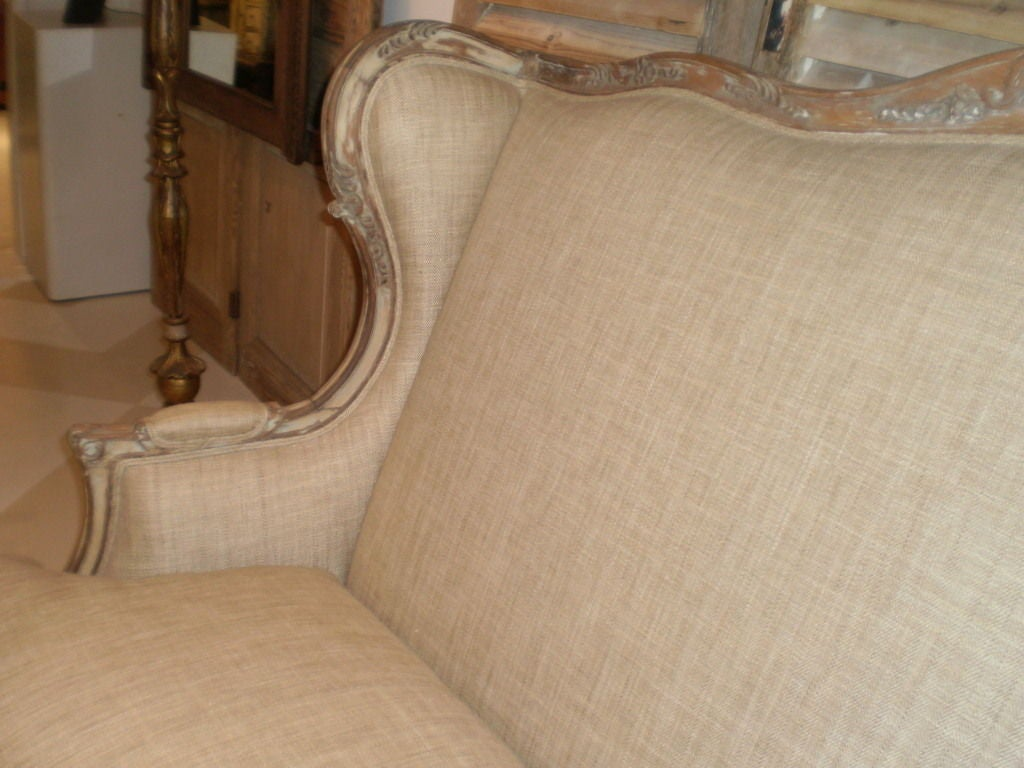 19th Century French Louis XV Style Canapé or Sofa For Sale 1