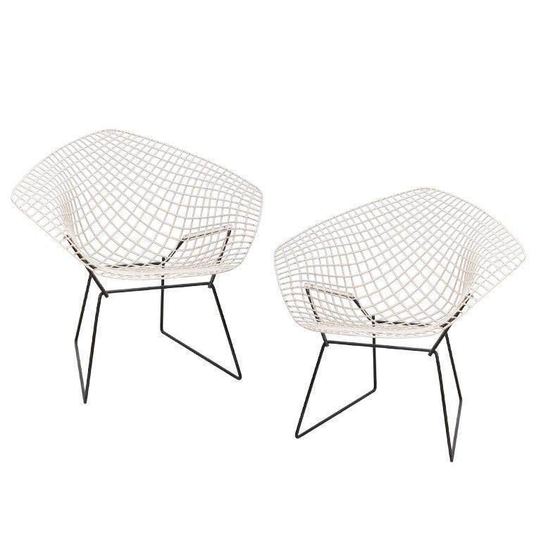 Harry Bertoia | Knoll, Pair Of Vintage Diamond Chairs 1