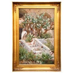 Scene in Capri by N.F. Schiottz-Jensen