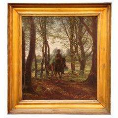 Man on Horseback by Johan Didrik   Frisch
