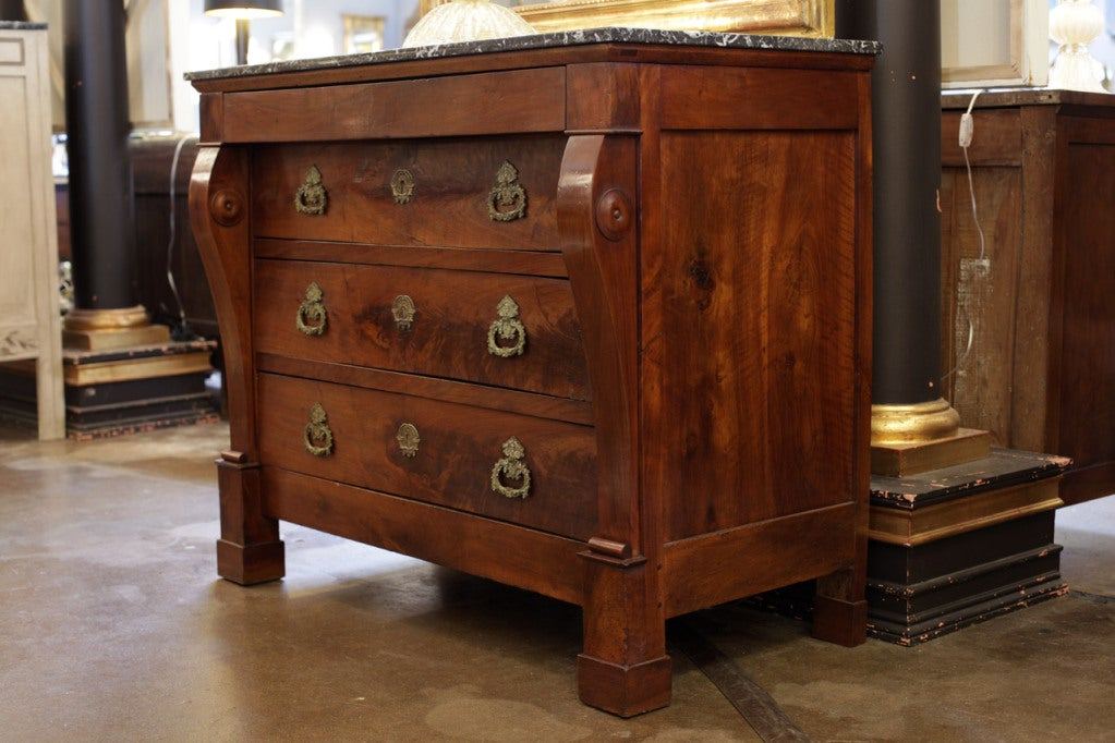 French Restoration Period Chest Of Drawers At 1stdibs
