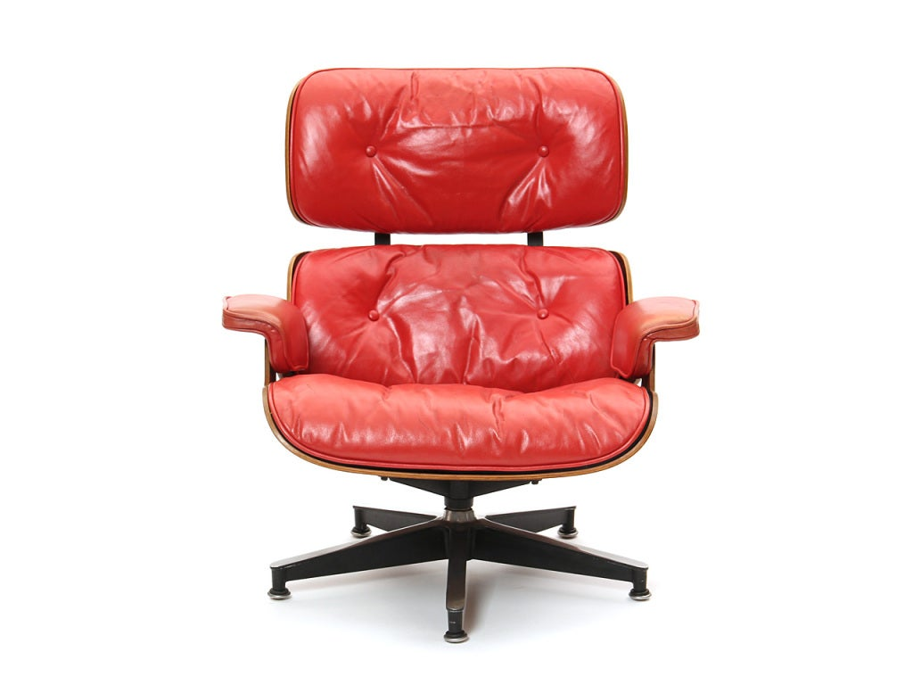 this red lounge chair by charles and ray eames is no longer available