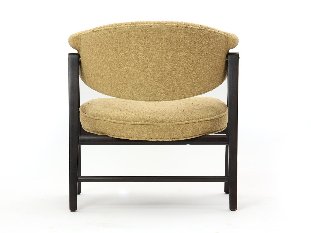 Mid-20th Century 'A' Frame Armchairs by Edward Wormley For Sale