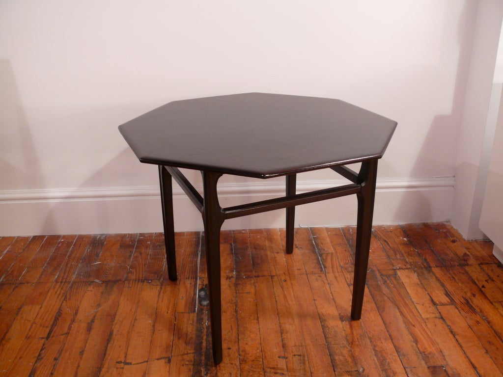 Octagon Side Table ~ Octagon side table for sale at stdibs