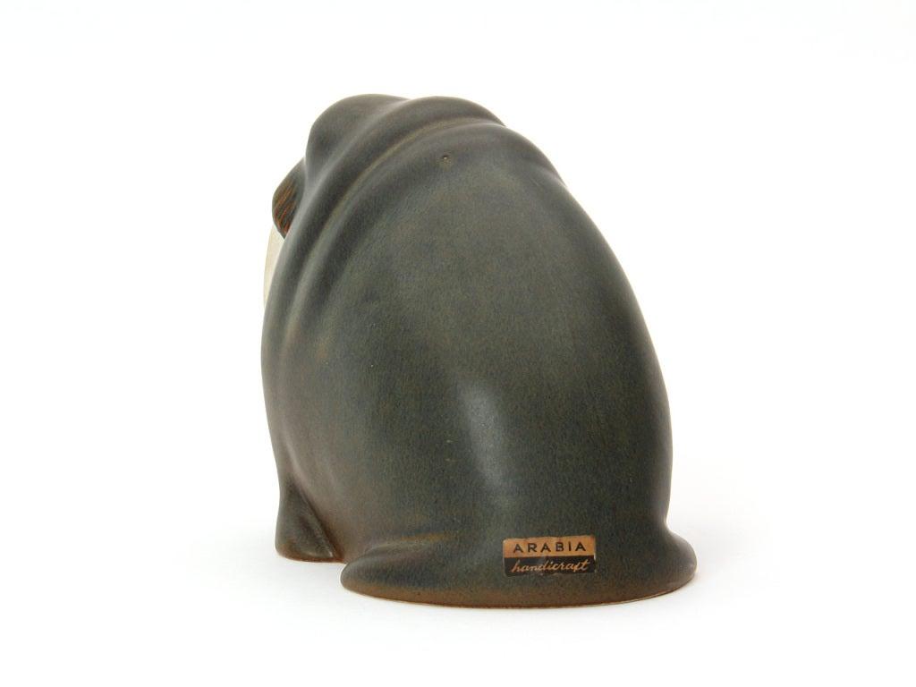 Ceramic Walrus By Arabia In Excellent Condition In Sagaponack, NY
